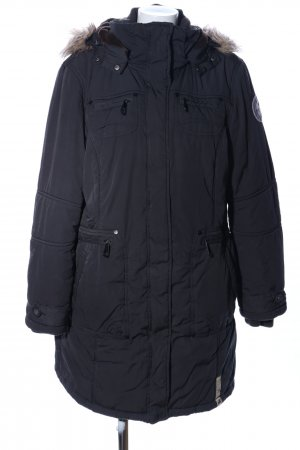 Tom Tailor Veste d'hiver noir style décontracté