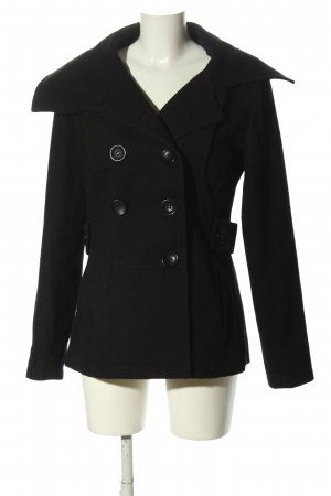 Tom Tailor Winterjacke schwarz Casual-Look