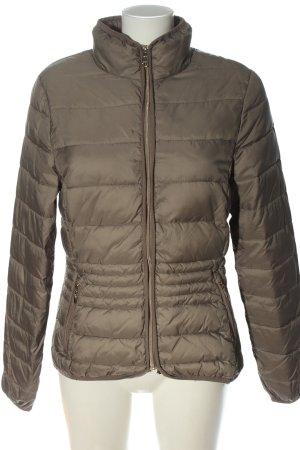 Tom Tailor Veste d'hiver brun motif de courtepointe style décontracté