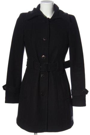 Tom Tailor Winter Coat black casual look
