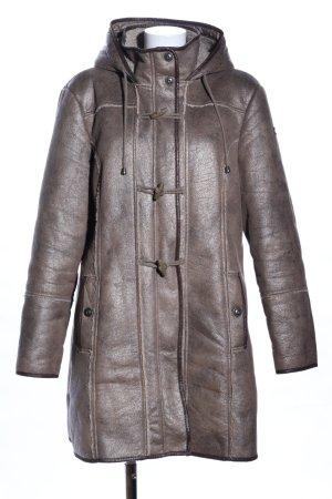 Tom Tailor Wintermantel bronzefarben Casual-Look