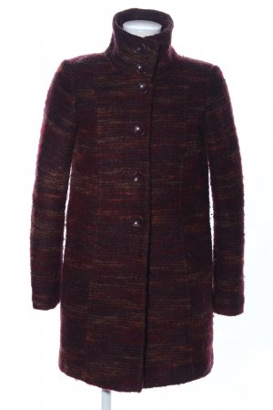 Tom Tailor Wool Coat red flecked casual look