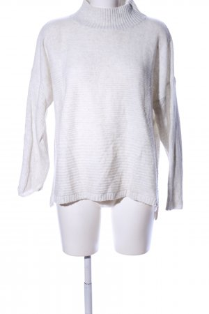 Tom Tailor Wollpullover weiß meliert Casual-Look