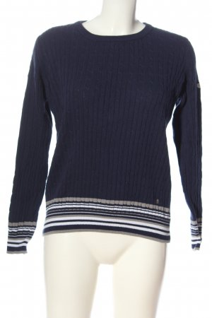Tom Tailor Zopfpullover mehrfarbig Casual-Look