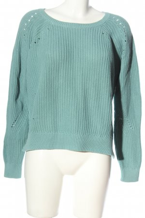 Tom Tailor Cable Sweater blue casual look
