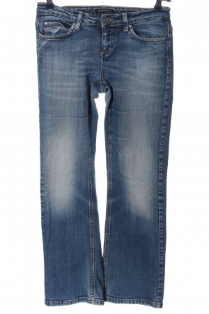 Tom Tompson Jeans flare bleu style décontracté