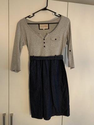 Tom Trailer Denim tailliertes Kleid