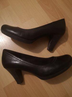 Stiefel Tomaris Pumps met hoge zool zwart