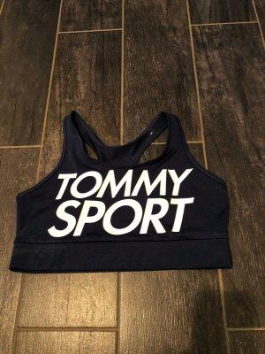 Tommy Hilfiger Soutien-gorge blanc-bleu foncé