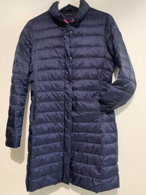 Tommy Hilfiger Abrigo de plumón azul oscuro-magenta Nailon