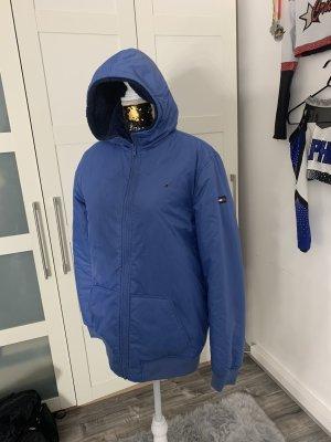 Tommy Hilfiger Reversible Jacket neon blue