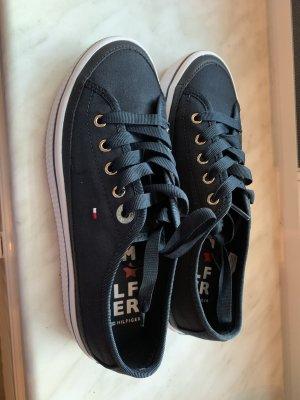 Tommy Hilfiger Hook-and-loop fastener Sneakers dark blue-black