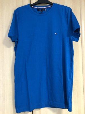 Tommy Hilfiger T-shirt blauw Katoen