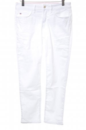 Tommy Hilfiger Pantalone a 7/8 bianco stile casual