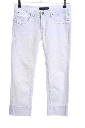 Tommy Hilfiger Jeansy 7/8 biały W stylu casual