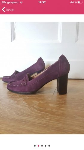 Tommy Hilfiger Monks violet-purple velvet