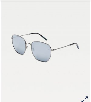 Tommy Hilfiger Oval Sunglasses cornflower blue