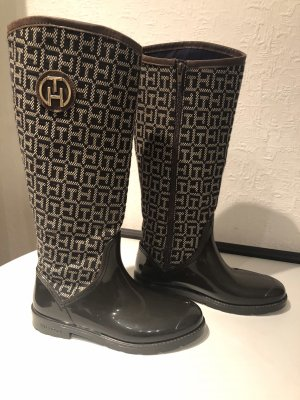 Tommy Hilfiger Wellies black brown-dark brown