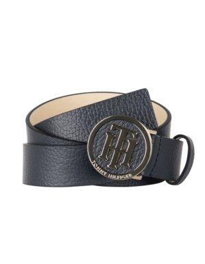 Tommy Hilfiger Leather Belt black