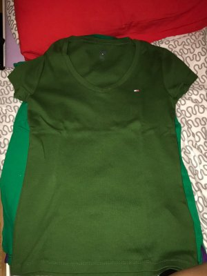 Tommy Hilfiger Polo verde scuro