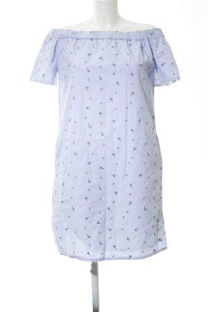 Tommy Hilfiger A-Linien Kleid blau Blumenmuster Casual-Look