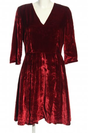 Tommy Hilfiger A-Linien Kleid rot Elegant