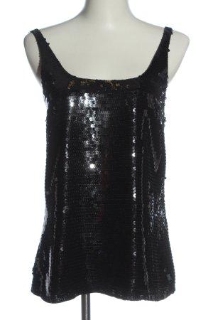 Tommy Hilfiger ärmellose Bluse schwarz Elegant