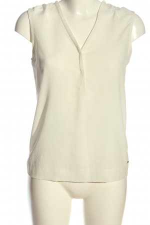 Tommy Hilfiger ärmellose Bluse creme Casual-Look