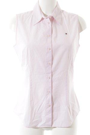 Tommy Hilfiger ärmellose Bluse rosé elegant