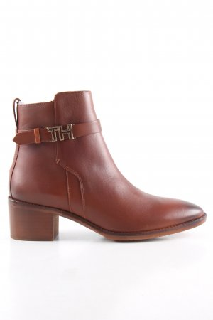 Tommy Hilfiger Ankle Boots braun Business-Look