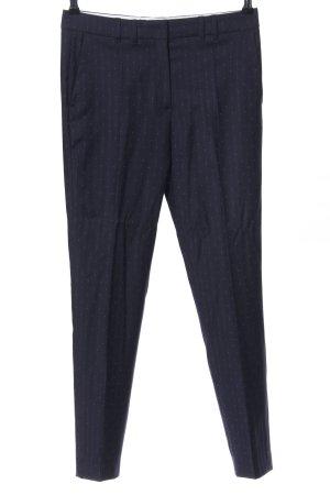 Tommy Hilfiger Anzughose blau Allover-Druck Casual-Look