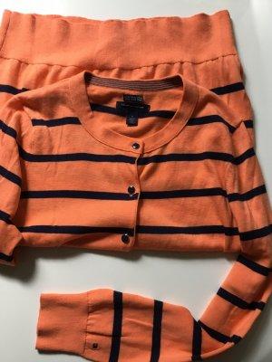 Tommy Hilfiger  ardigan Strickjacke m 38 pima cotton Damen orange