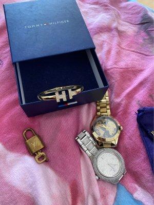 Tommy Hilfiger Braccialetto oro-argento