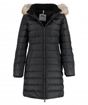 Tommy Hilfiger Hooded Coat black