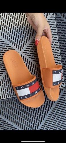 Tommy Hilfiger Wedge Sandals light orange