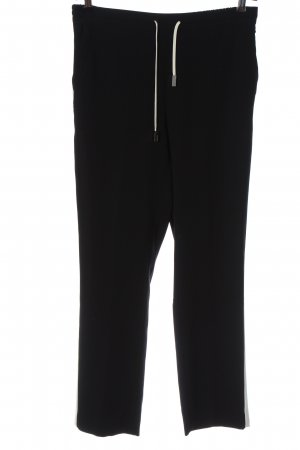 Tommy Hilfiger Baggy Pants schwarz-weiß Casual-Look