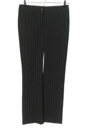 Tommy Hilfiger Baggy Pants schwarz-weiß Streifenmuster Business-Look