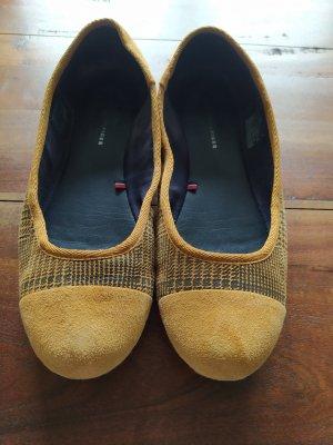 Tommy Hilfiger Pantofola nero-giallo-oro