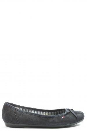 Tommy Hilfiger Ballerinas with Toecap blue casual look