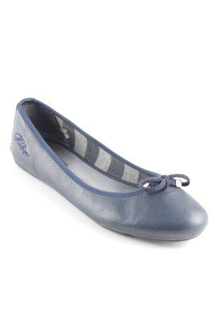 Tommy Hilfiger Ballerinas mit Spitze dunkelblau Casual-Look