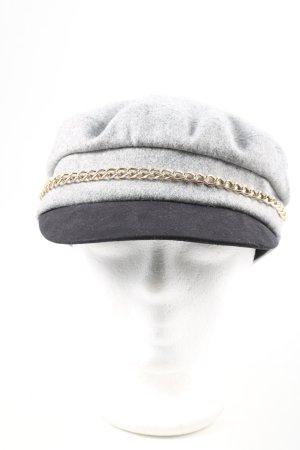 """Tommy Hilfiger Cappello da panettiere """"Baker Boy Melton"""" grigio chiaro"""