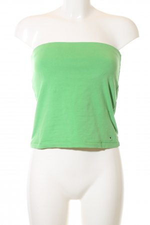 Tommy Hilfiger Top a fascia verde stile casual