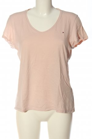 Tommy Hilfiger Basic-Shirt creme Casual-Look