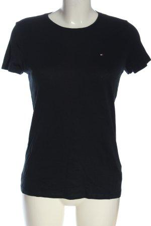 Tommy Hilfiger Basic-Shirt schwarz Casual-Look