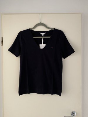 Tommy Hilfiger V-Neck Shirt dark blue