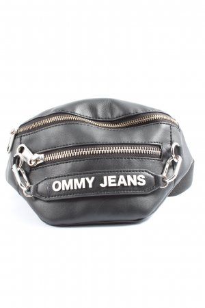 Tommy Hilfiger Bumbag black-silver-colored casual look