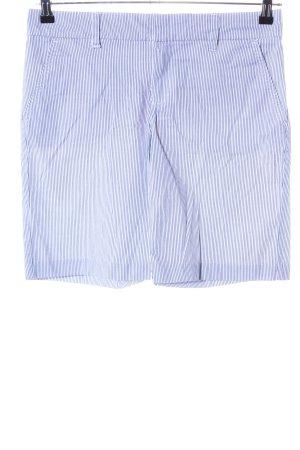 Tommy Hilfiger Bermuda bleu-blanc motif rayé style décontracté