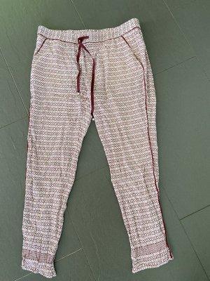 Tommy Hilfiger Harem Pants dark red-white
