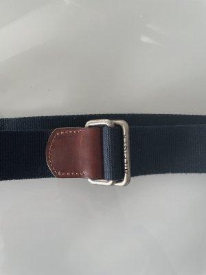 Tommy Hilfiger Fabric Belt dark blue-brown