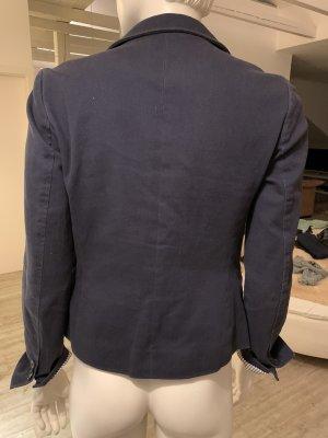 Tommy Hilfiger Denim Blazer de tela de sudadera azul acero-azul oscuro